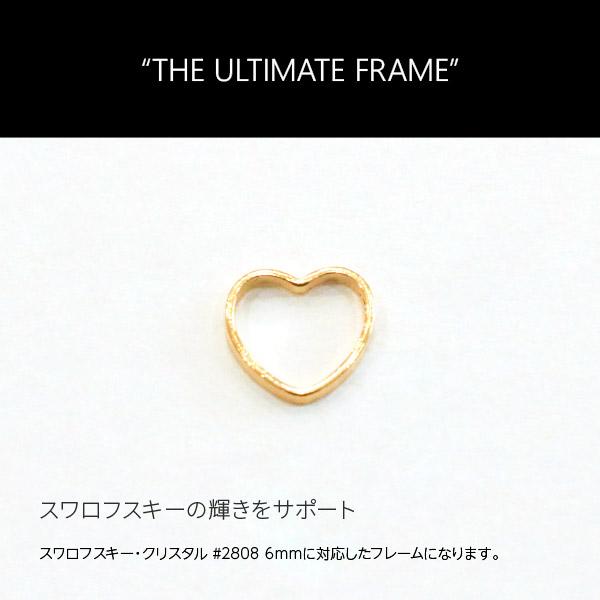 【Bonnail 3D ATTACKER】 THE ULTIMATE FRAME  #2808 6mm pinkgold 8P