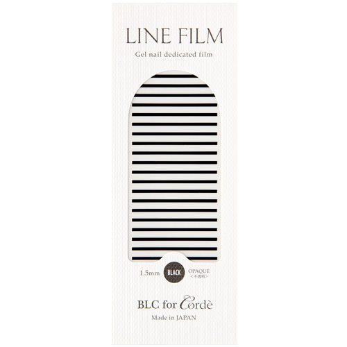 BLC for Corde ラインフィルム ブラック(不透明) 1.5mm