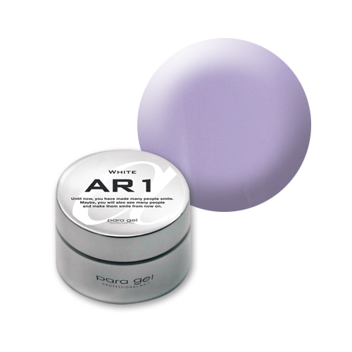【para gel】 AM3 アートカラージェル 4g <マット> ミルキーライラック