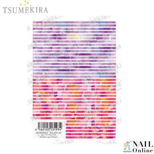 【TSUMEKIRA】 tati プロデュース3 Marble tape2 (2mm) NN-TAT-208