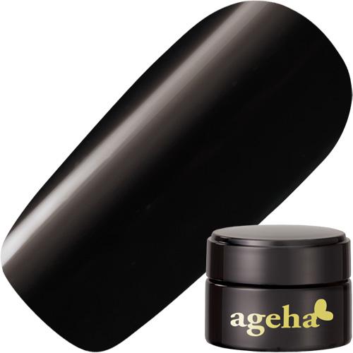 【ageha Gel】 2.7g カラー 2 (マット 濃度3) マットブラック