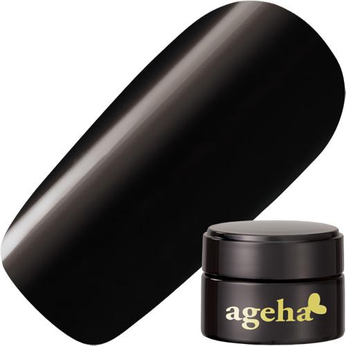 【ageha Gel】 カラージェル 28 ブラック 2.7g (マット 濃度2.5)