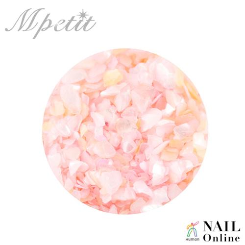 【Mpetit】 B207 天然クラッシュシェル(クリアケース入り) チェリーブロッサム 2g