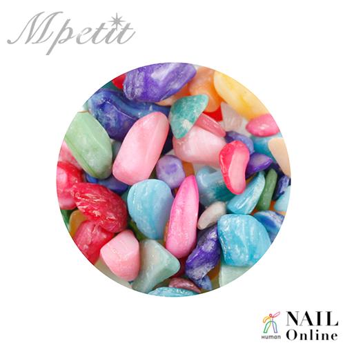 【Mpetit】 ナチュラルストーン(クリアケース入り) モロッコミックスA 3.5g