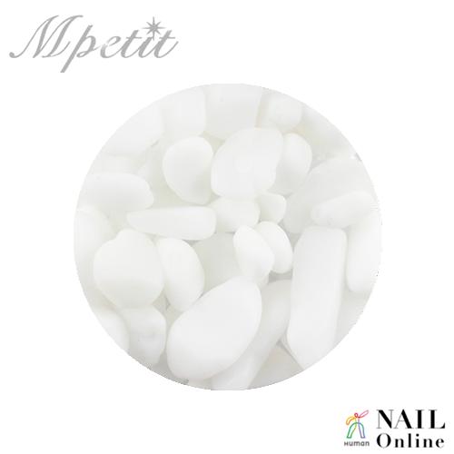 【Mpetit】 ナチュラルストーン(クリアケース入り) ホワイト 3.5g
