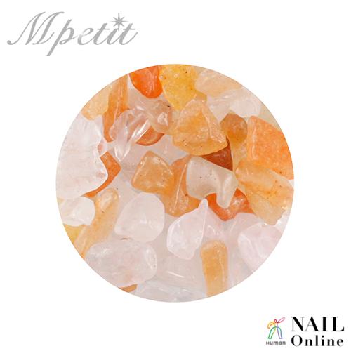 【Mpetit】 ナチュラルストーン(クリアケース入り) サンゴミックスA 3.5g