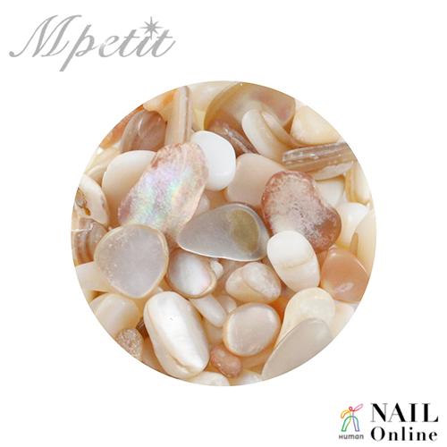 【Mpetit】 ナチュラルストーン(クリアケース入り) サンゴミックスB 3.5g