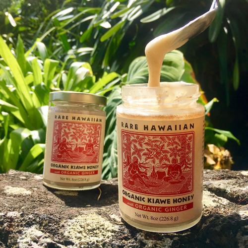 【レアハワイアン】オーガニックホワイトハニー ジンジャー
