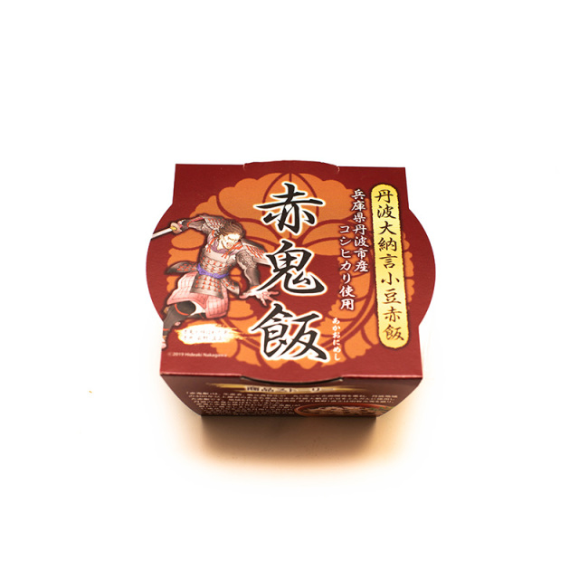 丹波大納言小豆赤飯【赤鬼飯】160g