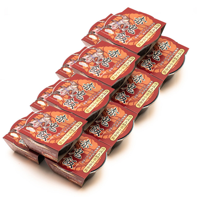 丹波大納言小豆赤飯【赤鬼飯】160g×12個入り