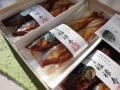 化粧箱入(紙器)鮎甘露煮【福禄寿】6尾入と10尾入をご用意しています
