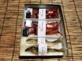 化粧箱入鮎塩焼き国産鰻蒲焼き