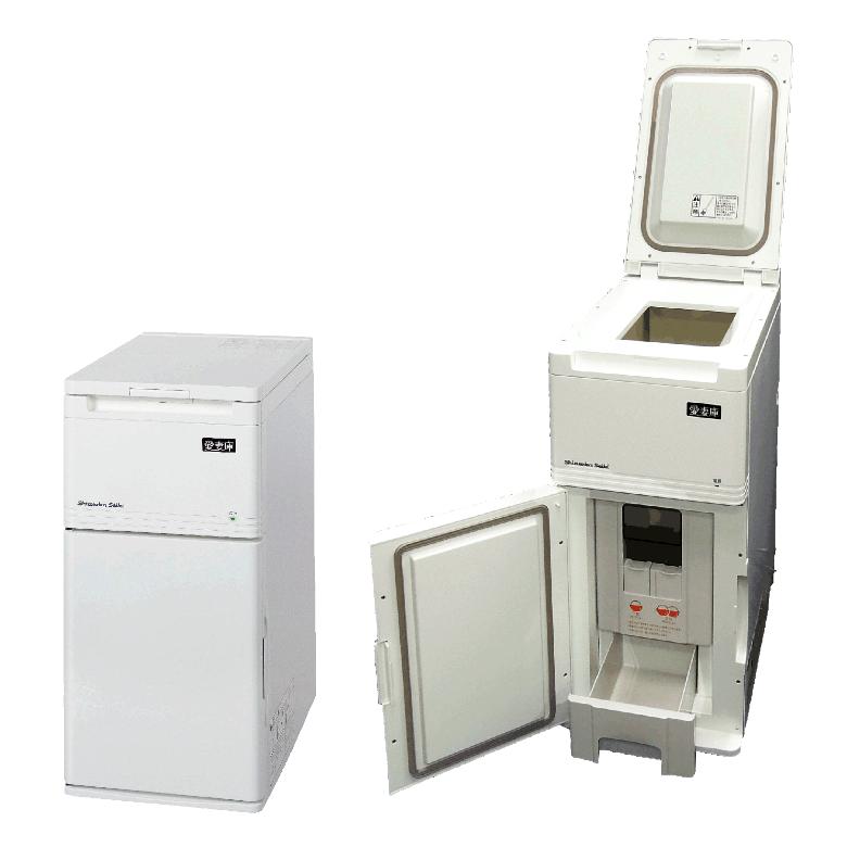 静岡製機保冷米びつ「愛妻庫」KSX-15(白米15kg用) 日本製