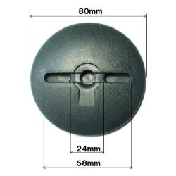 防草シート用ドーム型ワッシャー(緑)<200枚セット>(NO.7203WDF)