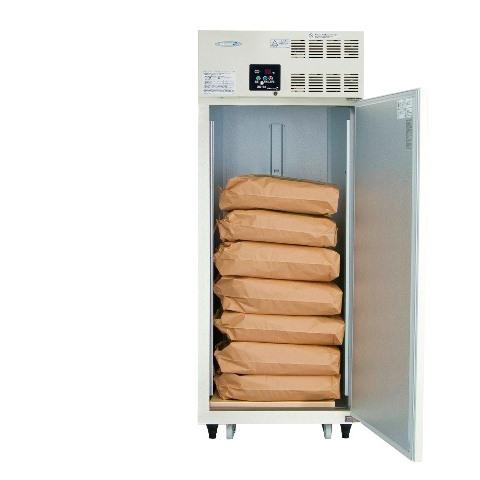 丸山製作所保冷庫MRF007M-2<515L、玄米7袋>