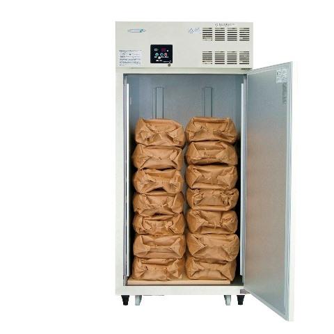 丸山製作所保冷庫MRF014M-2<805L、玄米14袋>