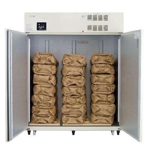 丸山製作所保冷庫MRF021M-1(100V仕様)<1403L、玄米21袋>