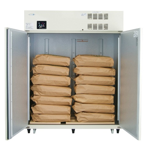 丸山製作所保冷庫MRF028M(200V仕様)特注品<1697L、玄米28袋>【配達設置料無料】