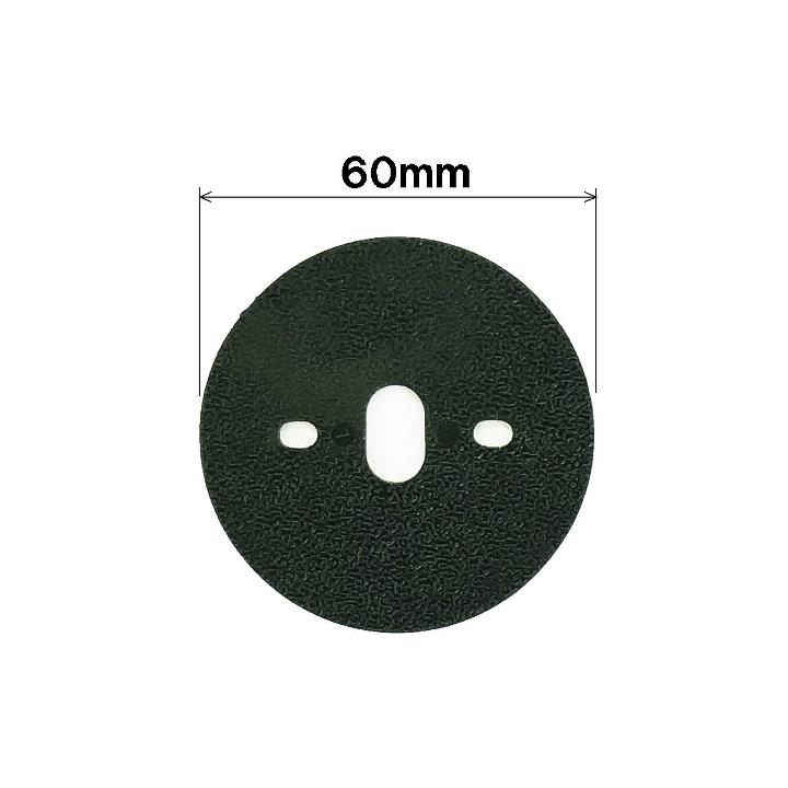 防草シート用平型ワッシャー(緑)<100枚セット>(NO.7203PWF)