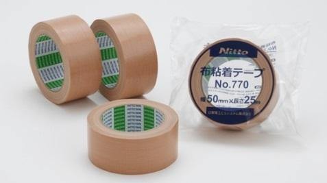 日東布テープ No770 (50mm幅 X 25m巻) 30巻入