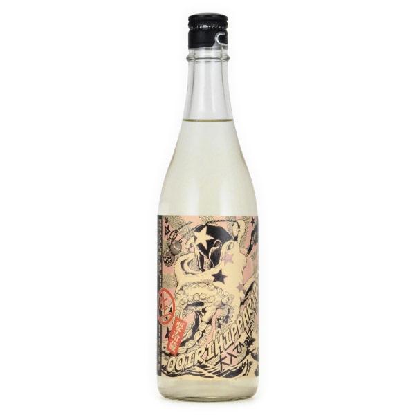 北島・大入りひっぱりだこ 純米吟醸酒 無濾過生 滋賀県北島酒造 720ml