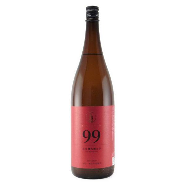 ナンバーズ「99」 純米酒 山廃仕込み 群馬県土田酒造 1800ml