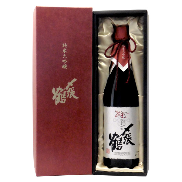〆張鶴 RED LABEL 純米大吟醸 新潟県宮尾酒造 720ml