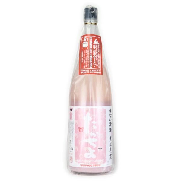たかちよ桃色活性 扁平精米おりがらみ酒 にごり生酒 新潟県高千代酒造 1800ml