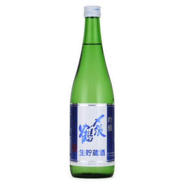 〆張鶴 吟醸 生貯蔵酒 限定酒 新潟県宮尾酒造 720ml