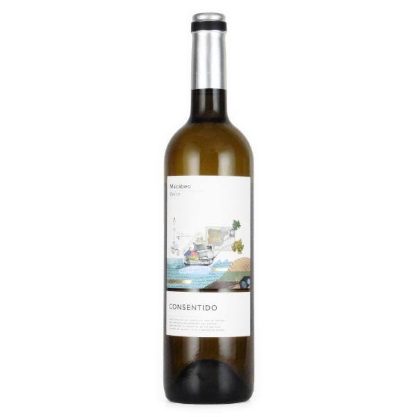 コンセンティード マカベオ 2017 ボデーガス・ラ・プリシマ スペイン イエクラ 白ワイン 750ml