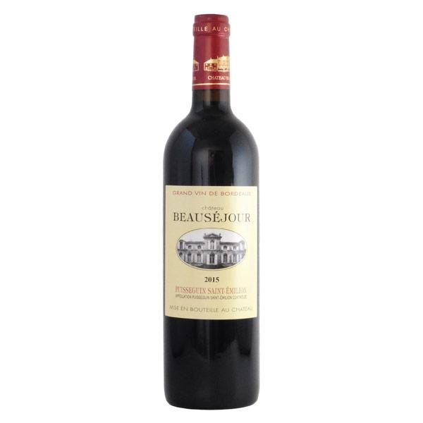 シャトー・ボーセジュール 2015 シャトー元詰 フランス ボルドー 赤ワイン 750ml