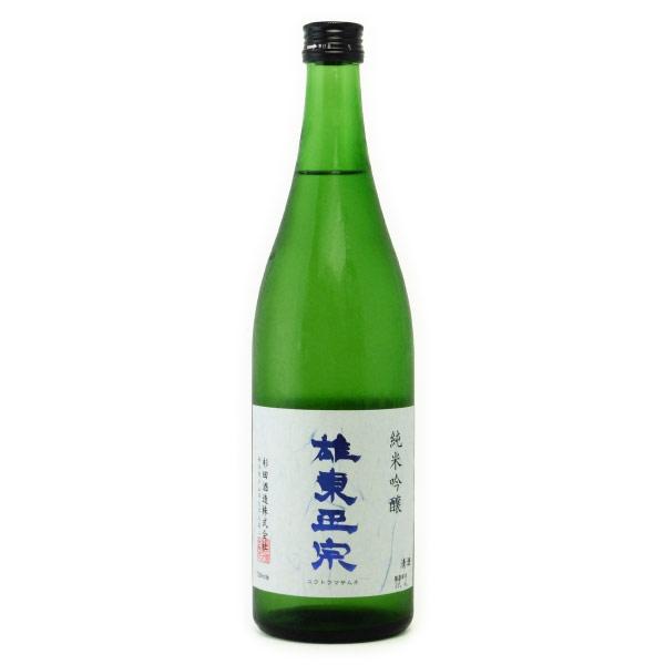 雄東政宗 純米吟醸酒 夢ささら 栃木県杉田酒造 720ml