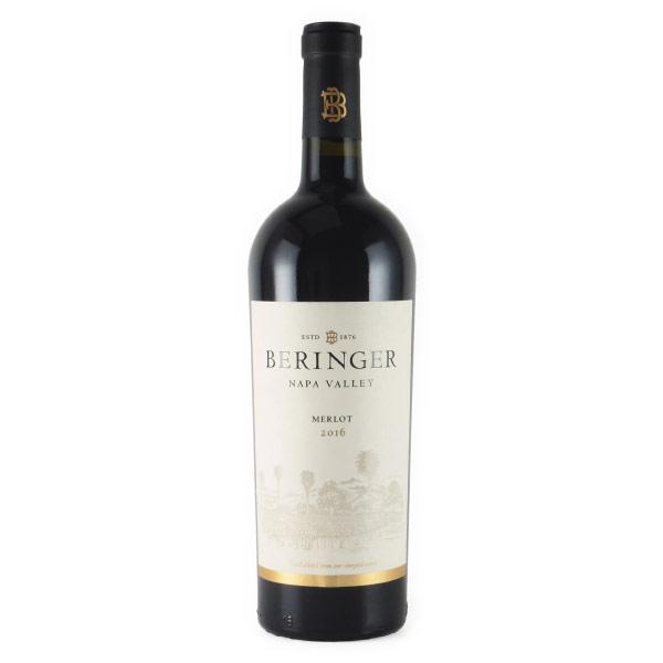 ナパ・ヴァレー・メルロー 2016 ベリンジャー アメリカ カリフォルニア 赤ワイン 750ml