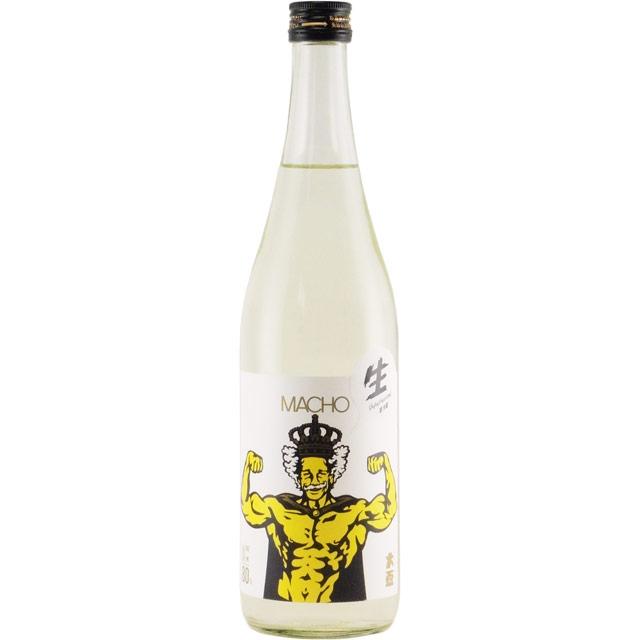 大盃マッチョ 純米酒 山田錦 群馬県牧野酒造 720ml