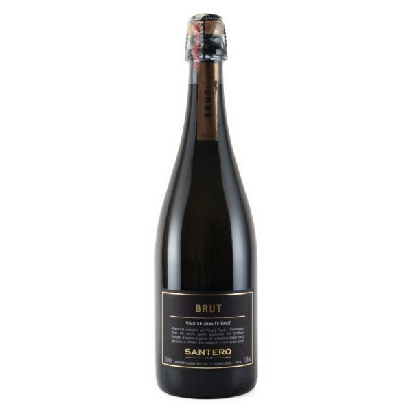 サンテロ・ブラック・ブリュット サンテロ イタリア ピエモンテ 白ワイン 750ml