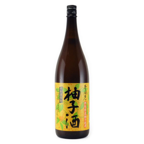 誉国光(柚子酒) リキュール 群馬県 土田本店 1800ml