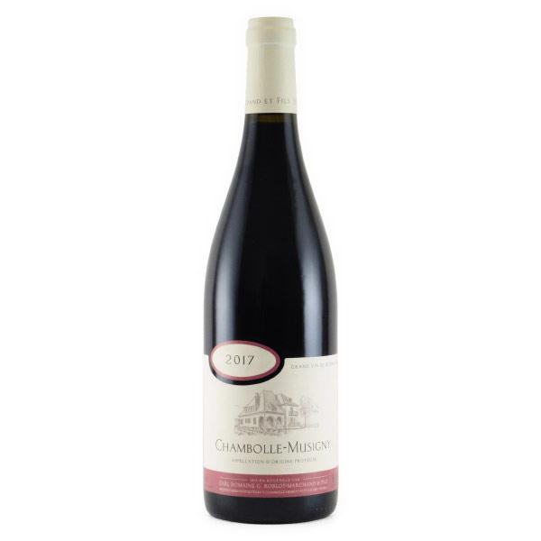 シャンボール・ミュジニー 2017 ドメーヌ・ロブロ・マルシャン フランス ブルゴーニュ 赤ワイン 750ml