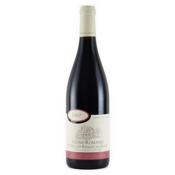ヴォーヌ・ロマネ 1er レ・ルージュ・デュ・ドシュ 2017 ドメーヌ・ロブロ・マルシャン フランス ブルゴーニュ 赤ワイン 750ml