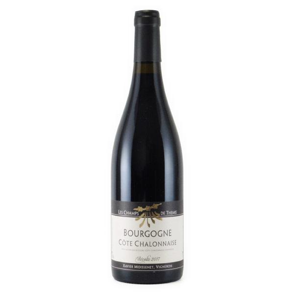 ブルゴーニュ・コート・シャロネーズ ルージュ 2017 ドメーヌ レ・シャン・ド・テミ フランス ブルゴーニュ 赤ワイン 750ml