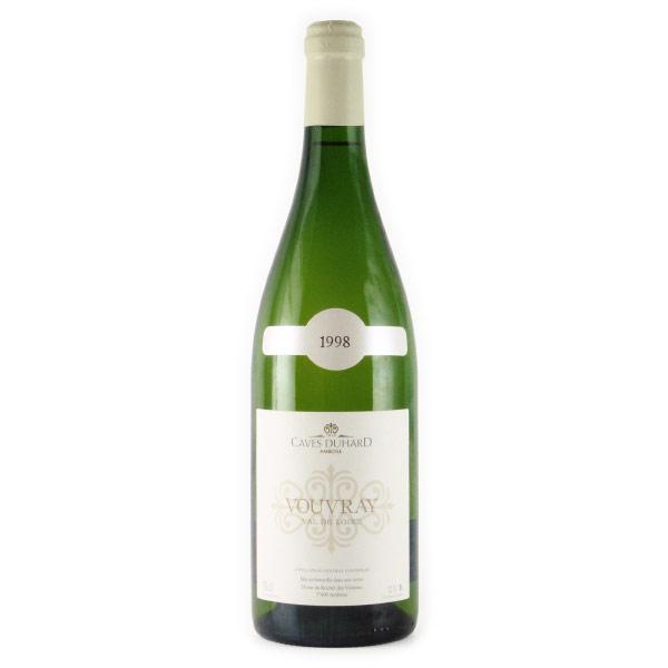 ヴーヴレ ドミ・セック 1998 カーヴ・デュアール フランス ロワール 白ワイン 750ml