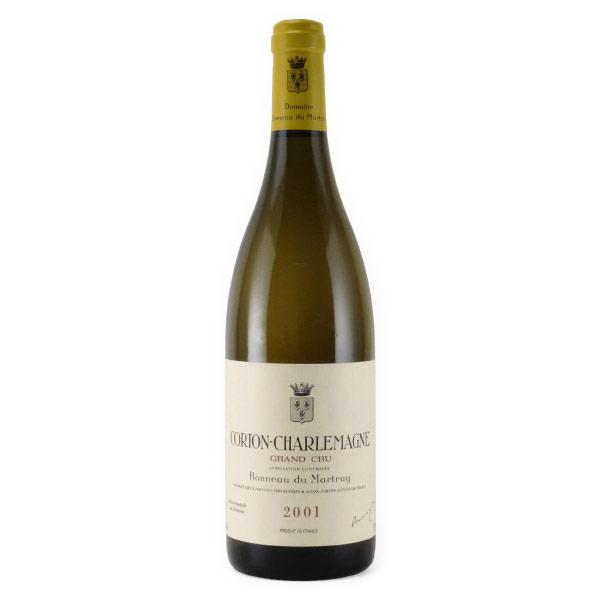 コルトン・シャルルマーニュ グラン・クリュ 2001 ボノー・デュ・マルトレイ フランス ブルゴーニュ 白ワイン 750ml