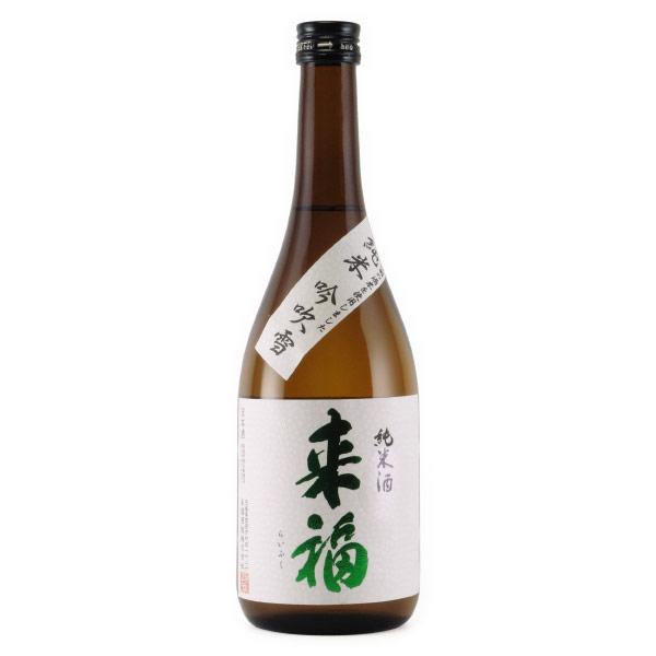 来福 吟吹雪 純米酒 ポピー花酵母 茨城県来福酒造 720ml