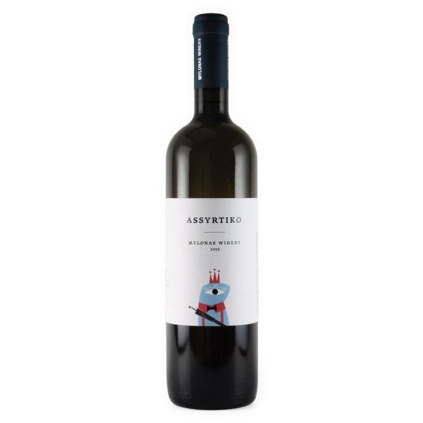 アシルティコ 2018 ミロナス ギリシャ アッティカ 白ワイン 750ml