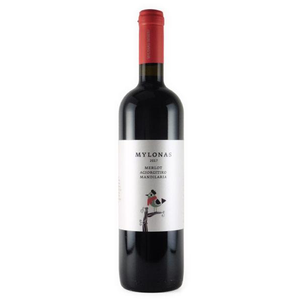 メルロアギオルギティコマンディラリア 2018 ミロナス ギリシャ アッティカ 赤ワイン 750ml