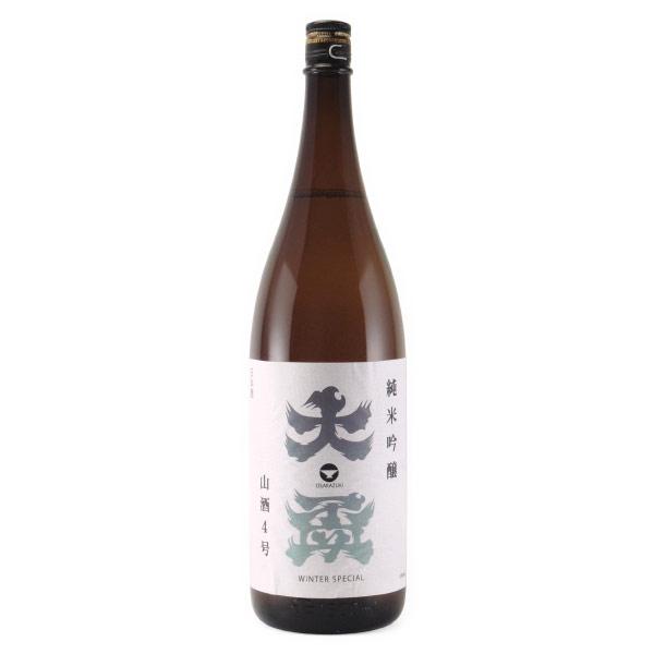 大盃 山酒4号 純米吟醸酒 WINTER SPECIAL 群馬県牧野酒造 1800ml