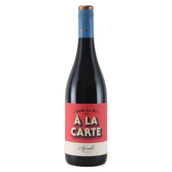 アラカルト・シラー 2017 ポーレ・レ・ヴァン フランス ラングドック 赤ワイン 750ml