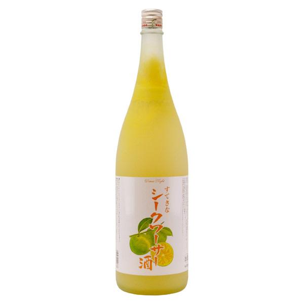 シークワーサー酒 埼玉県麻原酒造 1800ml
