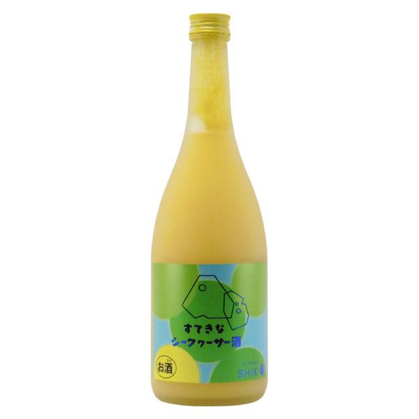 シークワーサー酒 埼玉県麻原酒造 720ml