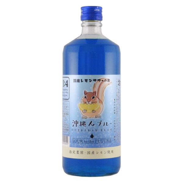 沖縄んブルー リキュール 福岡県 小林酒造本店 720ml