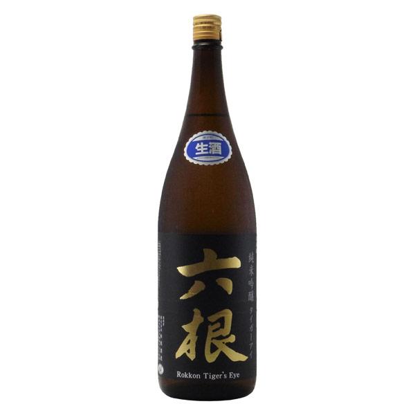 六根 タイガーアイ 純米吟醸 生酒 青森県松緑酒造 1800ml